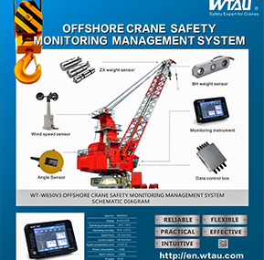 Offshore CraneLmi System WT-W650V3  for malaysia customer