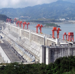 Weite  Signed new contract with dongping Hydropower  plant for  dam gantry crane monitoring system