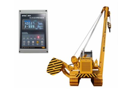 Wireless Load Moment Indicator System  for Pipelayer