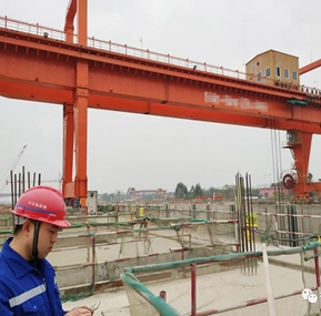 The WTAU safety monitoring system of the ship gate gantry crane for guigang project was successfully been approved