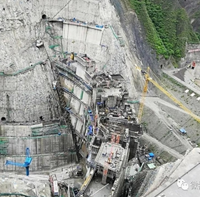 Weite Tower Crane anti-collision system applied to the western hydropower  project
