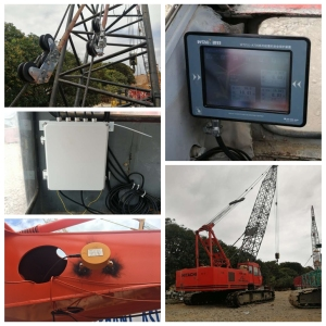 80t hitachi kh 300 crawler crane safe load moment indicator system for Philippines customer