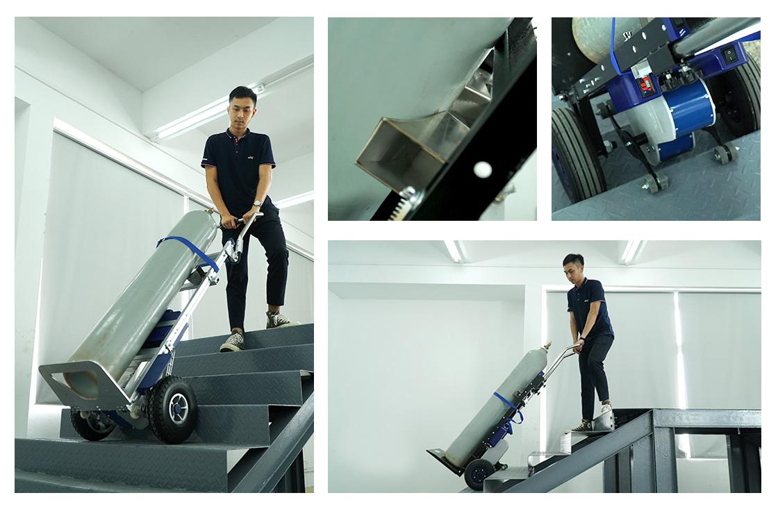 electric stair climbing hand trucks
