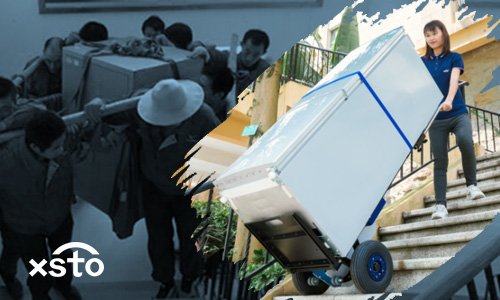 Why do you need an electric stair climber for heavy cargo moving?