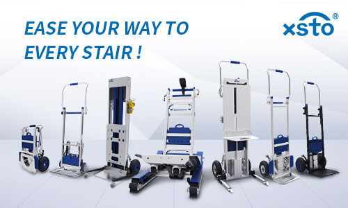 How can electric stair climbing trolley assist in moving?